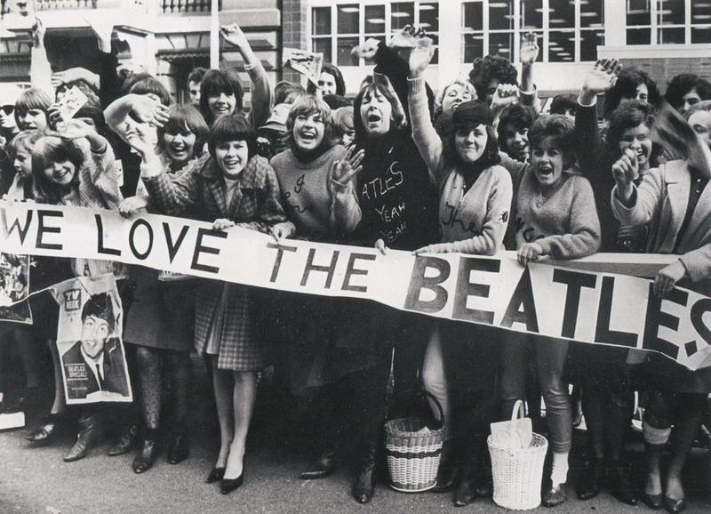 Image result for beatles hysteria and mania