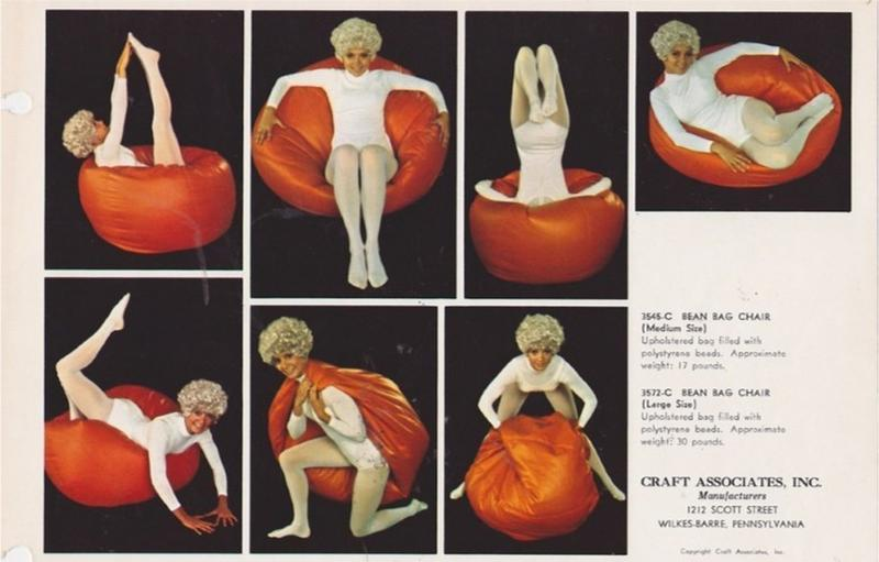 Fabulous The 70S Bean Bag Chair For Serious Rec Room Lounging Camellatalisay Diy Chair Ideas Camellatalisaycom