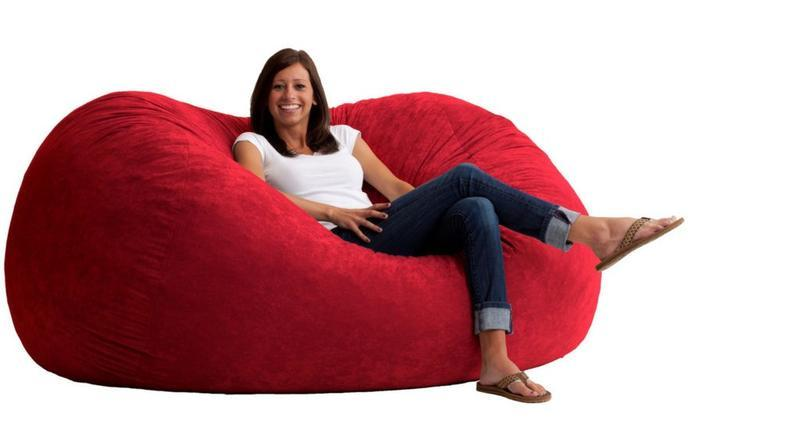 Marvelous The 70S Bean Bag Chair For Serious Rec Room Lounging Camellatalisay Diy Chair Ideas Camellatalisaycom