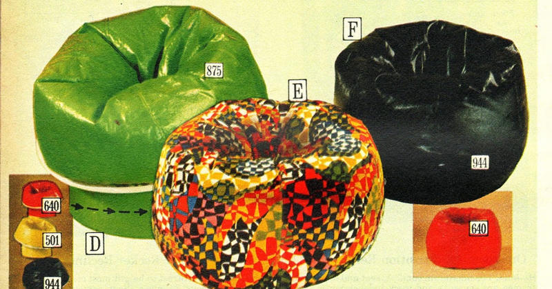 Groovy The 70S Bean Bag Chair For Serious Rec Room Lounging Camellatalisay Diy Chair Ideas Camellatalisaycom